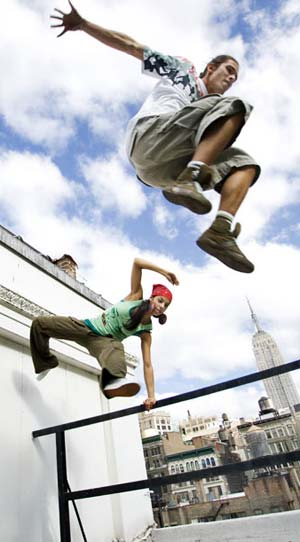 FREE RUNNING  amp  PARKOURFree Running Jumps